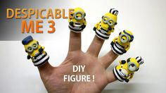 Despicable Me 3 2017  Making Minions figure with clay 슈퍼배드3 미니언즈 피규어 장난감...