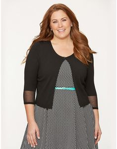 50d7c613a0 Full Figure Illusion Cardigan by Lane Bryant