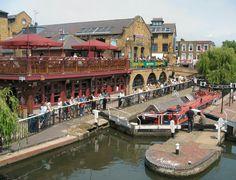 Regents Canal - Camden Lock - London Definitely one of my favorite spots!