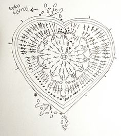 Virkkaus- ja neuleblogi, vinkkejä, ohjeita ja videotutoriaaleja. Freeform Crochet, Filet Crochet, Crochet Motif, Crochet Flowers, Knit Crochet, Crochet Patterns, Crochet Crafts, Crochet Projects, Knitted Heart Pattern