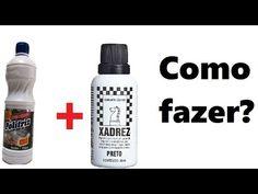 Como fazer pretinho para pneu e parachoque com Cera e tinta Xadrez