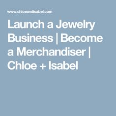 Work from home + earn extra income selling original jewelry with Chloe + Isabel – a fashion brand + unique social retail opportunity! Home Based Business, Business Design, Business Ideas, Fashion Jobs, Educational Websites, Chloe Isabel, Inner Strength, Starting Your Own Business, Wholesale Jewelry