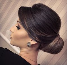 Pin on Hair and beauty Wedding Hairstyles For Long Hair, Elegant Hairstyles, Bride Hairstyles, Bridal Hair Buns, Wedding Hair And Makeup, Hair Makeup, Mother Of The Bride Hair, Elegant Wedding Hair, Wedding Hair Inspiration