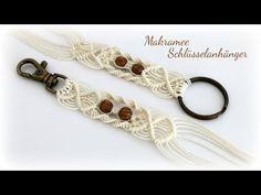 Makramee Schlüsselanhänger * DIY * Macrame Keychain - YouTube