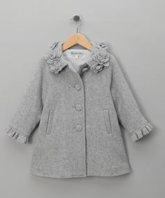 girls coat winter autumn flower baby girl jackets lovely princess newborn outerwear clothes baby coat for birthday gift - Salvabrani Baby Outfits, Little Girl Dresses, Toddler Outfits, Kids Outfits, Little Girl Fashion, Kids Fashion, Fashion Fashion, Baby Girl Jackets, Baby Coat
