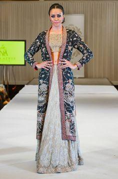 Nida Azwer Kothari Parade Bridal Dress Collection 2014 (8)