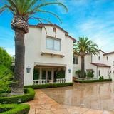 Listed for 8.599 million, Kobe Bryant's four-bedroom home in Newport Coast was built in 1997 and sits on a half-acre, behind gates at the end of a protected cul-de-sac. The grounds include a swimming pool and spa, fire pit and an outdoor kitchen. Inside you'll find an 850-square-foot home gym, hair salon, home theater and a shark tank in the library.