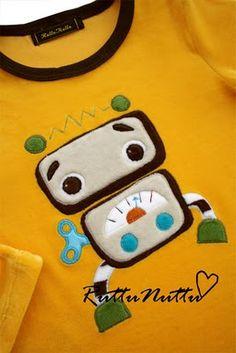 Cute robot kids' shirt Baby Boy Rooms, Baby Crafts, Little Man, Stuffed Toys Patterns, Aliens, Robots, Mothers, Polymer Clay, Scrapbook