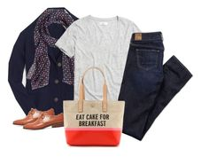 """""""OOTD 012716"""" by mygirlyarmour ❤ liked on Polyvore featuring J.Crew, Madewell, American Eagle Outfitters, women's clothing, women's fashion, women, female, woman, misses and juniors"""
