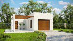 projekt G175 - Budynek garażowo - gospodarczy PRA1167