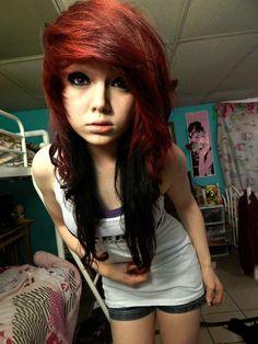 red hair XD