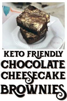 Keto Chocolate Cheesecake Brownies - Keto Brownies - Ideas of Keto Brownies - Delicious Keto Chocolate Cheesecake Brownies are just exactly what you need to curb your sweet tooth without wrecking your macro goals! Keto Foods, Keto Approved Foods, Vegan Keto Diet, Ketogenic Diet, Chocolate Cheesecake Brownies, Cream Cheese Brownies, Keto Brownies, Keto Cheesecake, Keto Desserts