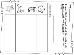 First Grade Fanatic!: Christmas Crunch! Graphing and Eating