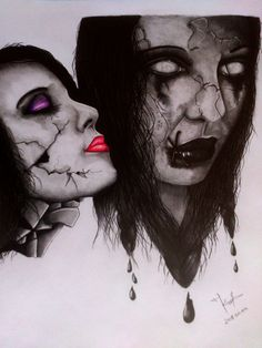 my horror Drawing