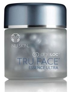 Change the way your skin ages and embrace the look of youth with ageLOC® Tru Face® Essence Ultra from Nu Skin. Galvanic Body Spa, Nu Skin Ageloc, Liquid Gold, Younger Looking Skin, Skin Firming, Anti Aging Skin Care, Face Care, Health And Beauty, Bottle