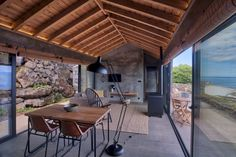 Image 3 of 52 from gallery of Lava Homes / Diogo Mega Architects. Photograph by Miguel Cardoso Lava, Tiny House, Contemporary Interior, Old Houses, Layout Design, Interior And Exterior, Pergola, House Design, Patio