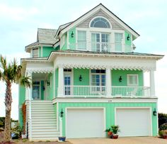 beach cottage ideas Give your house a gingerbread-y look with a fabulous decorative coastal house trim from Island Creek Designs . Beach Cottage Exterior, Cottage Porch, Beach Cottage Style, Beach Cottage Decor, Coastal Cottage, Coastal Homes, Coastal Decor, Beach Homes, Cottage Ideas