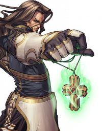 Human Cleric - Pathfinder PFRPG DND D&D d20 fantasy