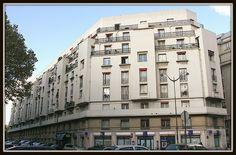 Logements [1930] 8, rue Catulle Mendès Porte Champerret Paris 75017 Architecte : Pierre Patout