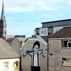 By @solusstreetart in #Ireland  http://ift.tt/1QiW3Ar  #globalstreetart by globalstreetart