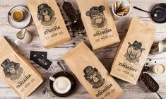 Salvita Bingelytė - The Mood Coffee Packaging