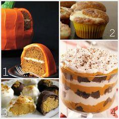 24 pumpkin recipes ... yum