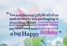 sister birthday quotes wishes for family cards step brother from greeting card universe