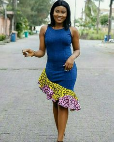 Hello gorgeous ladies… we're looking out one of the most trending styles currently in vogue: Super Stylish and Juicy Ankara Gowns for super ladies African Fashion Designers, African Print Fashion, Africa Fashion, African Fashion Dresses, African Attire, African Wear, African Women, African Dress, Ankara Fashion