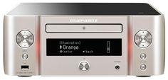 marantz マランツ CDレシーバー DSD ハイレゾ ネットワーク対応 Bluetooth Airplay ワイドFM  シルバーゴールド M-CR611/FN