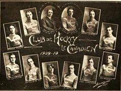 1909-1910 Montreal Canadiens Inaugural Team
