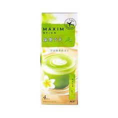 AGF Maxim Stick Uji Matcha Latte - 4 Sticks