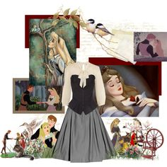 Sleeping Beauty, created by wedancefordreams on Polyvore