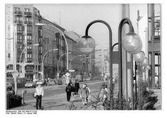 Im Wandel:  In den achtziger Jahren begannen die DDR-Stadtplaner die...