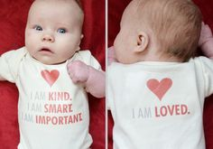 """I love this!  I want to make T Shirts for the baby with this on it!  (This is a Quote from the book, """"The Help"""")"""