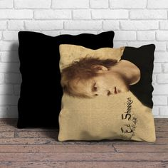 This is Ed Sheeran pillow cushion -Removable poly/cotton cover pillows are soft…