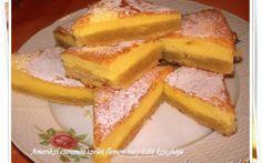 Amerikai citromos szelet recept fotóval