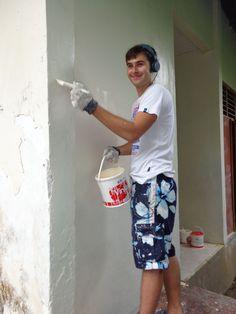 Renovatie werkzaamheden  - Vrijwilligerswerk Bali
