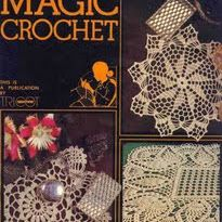 Links to Magic Crochet Magazine issues #1-47, with hundreds of diagram chart patterns. Incredible!,