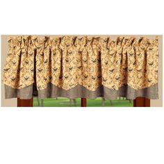 Birds Fairfield Valance for Bathroom or Kitchen curtains | Bestwindowtreatments.com