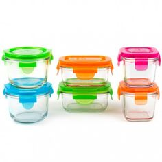 Glass baby food containers Starter Set
