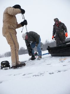 Take a friend fishing! Basic ice fishing tips and safety reminders | Iowa DNR