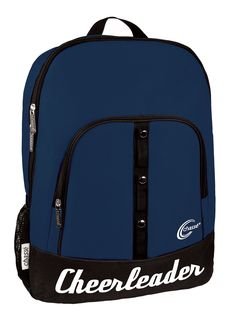 Take your spirit with you wherever you go when you attach up to three of your favorite cheer hair bows to this versatile Bowtique Backpack by Chassé®. Cheer Backpack, Cheerleading Bags, Cheer Hair Bows, Cheer Stunts, Senior Guys, Cheer Pictures, Senior Photos, Travel Bags, Backpacks