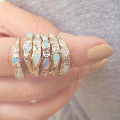 MISA Jewelry | Mermaid Rings | @theluxeboheme
