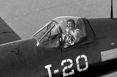 Corsair Pilot Ford Island, Pearl Harbor 1946