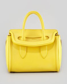 Alexander McQueen Small Heroine Handbag. I'm in love with it.