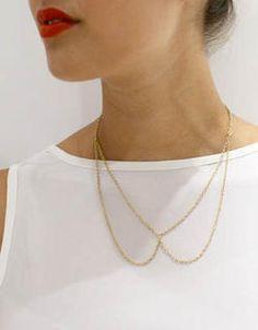 FASHION HOW TO: maak je eigen collar necklace - Fashion School - Fashion - Home - ELLE Belgïe