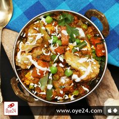 The irresistible taste of this Mixed Vegetable Sabzi will make you addicted to it! Order now visit: www.oye24.com or call 0731-4711711 #oye24 #food #foodie #mixveg #indore #fooddelivery #orderonline #midnight #freedelivery