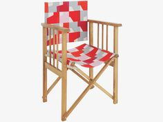 AFRICA MULTI COLOURED Fabric Red/orange Patterned Replacement Canvas Cover  For Directors Chair