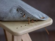 "designandwhatnot: "" STYGN Pall & Bänk, bench and stool by Grimbergs (Source: grimbergs.se) """