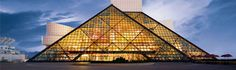 Cleveland, Ohio - Rock and Roll Hall of Fame Museum